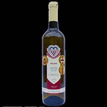 Láhev vína Pálava