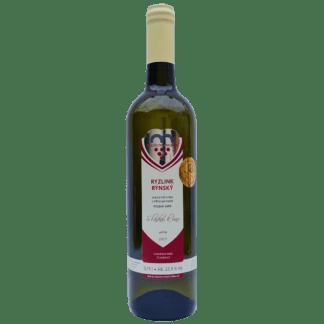 Láhev vína Ryzlink rýnský