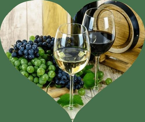 Srdce z vína